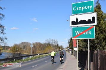 Wjazd do Czapur (gmina Mosina) - Czapury Wiórek