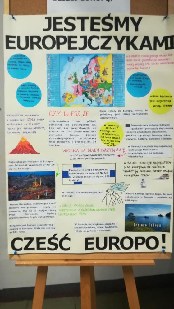 konkurs o Europie