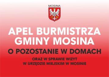 apel burmistrza gminy Mosina