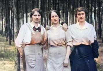 dzień kobiet - stara fotografia