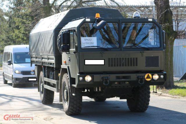 pojazd wojskowy - sprzęt medyczny