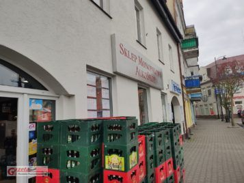 w nocy ze środy na czwartek miał miejsce napad na sklep monopolowy w Mosinie