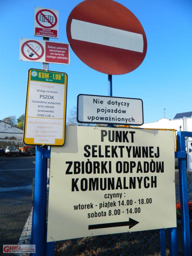 pszok w Luboniu - punkt zbiórkPSZOK w Luboniu - Centralny Punkt Selektywnej Zbiórki Odpadów Komunalnychi odpadów