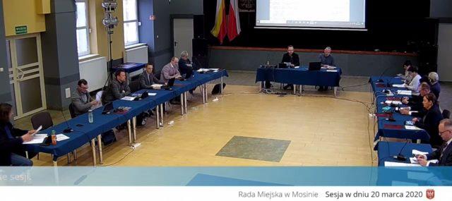 Sesja Rady Miejskiej w Mosinie