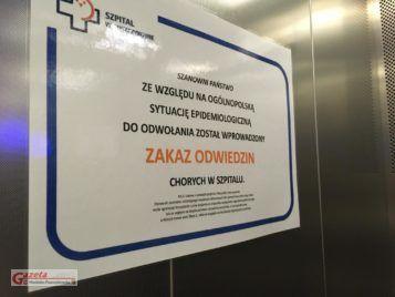 zakaz odwiedzin - szpital w Puszczykowie