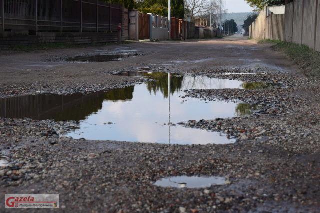 ulica Mieszka I w Mosinie