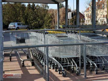 Wózki supermarketu
