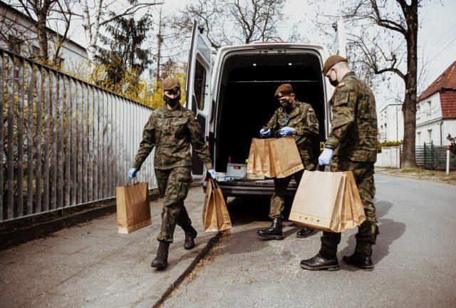 Pomoc w dostarczaniu żywności WOT