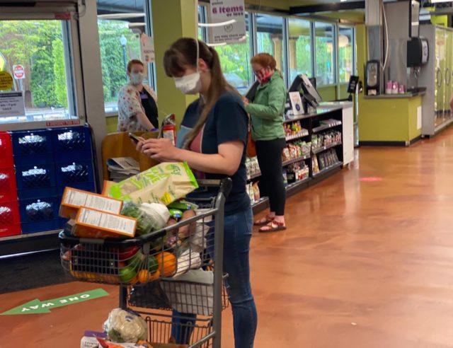 zakupy w USA w czasie epidemii koronawirusa