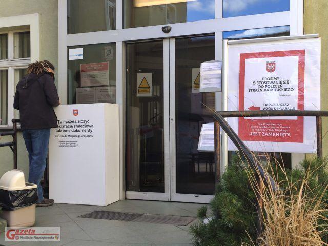 UM w Mosinie - deklaracje śmieciowe