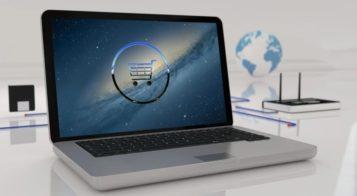 zakupy internetowe - laptop
