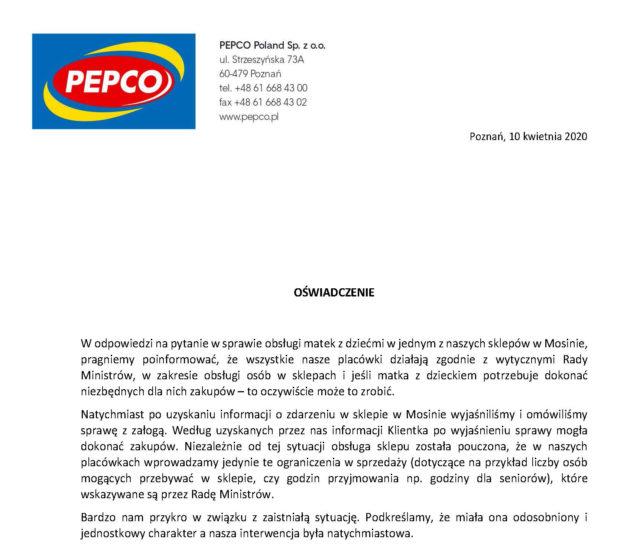 PEPCO Mosina