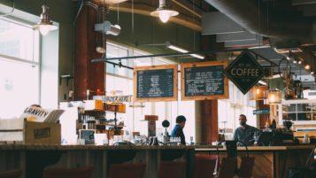 kawiarnia industrialna
