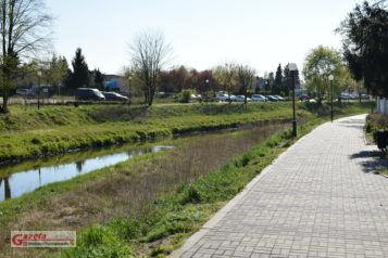 Promenada nad Kanałem Mosińskim w Mosinie