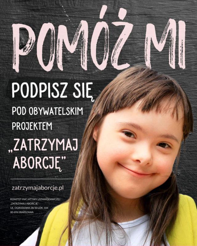 plakat zbiórkowy
