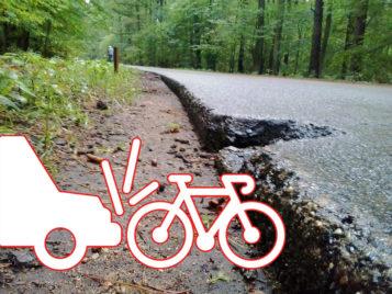 Grajzerówka WPN - wypadek rowerzysty