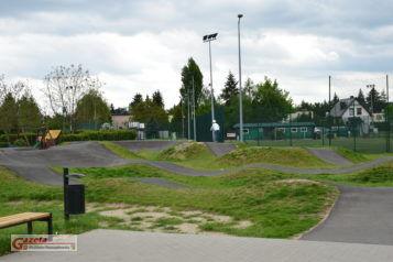 Skatepark - Pumptrack w Puszczykowie