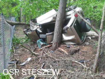 trgiczny wypadek samochód terenowy