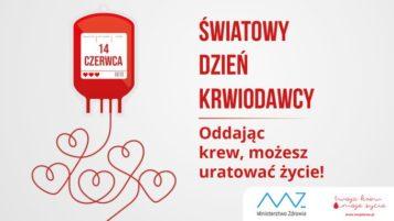 światowy dzień krwiodawcy