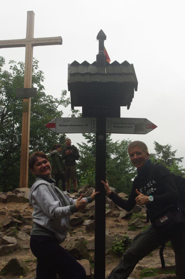 Kasia Tomczak i Marta Mrowińska - w górach