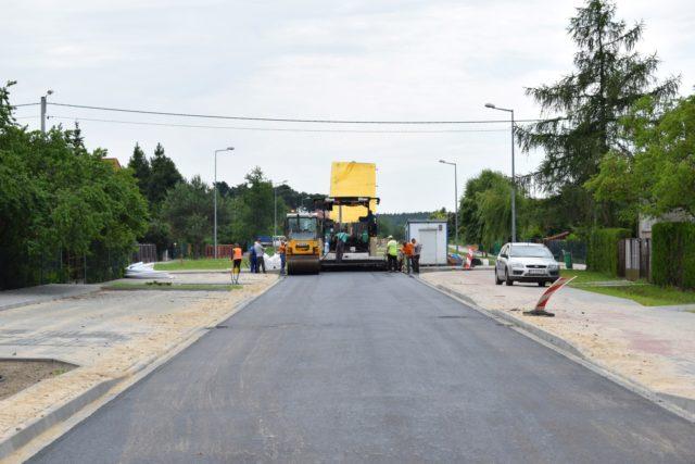 Remont ulicy Brzechwy w Mosinie - ostatni etap prac