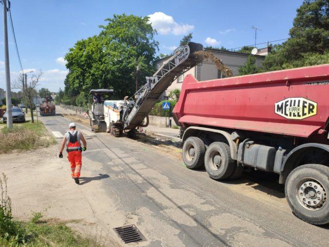 budowa ulicy Sowinieckiej w Mosinie