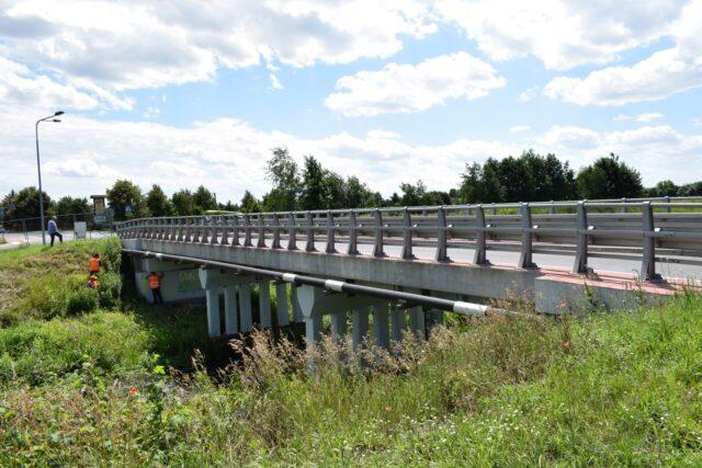 ul. Lipowa w Krosinku - most na Kanale Mosińskim