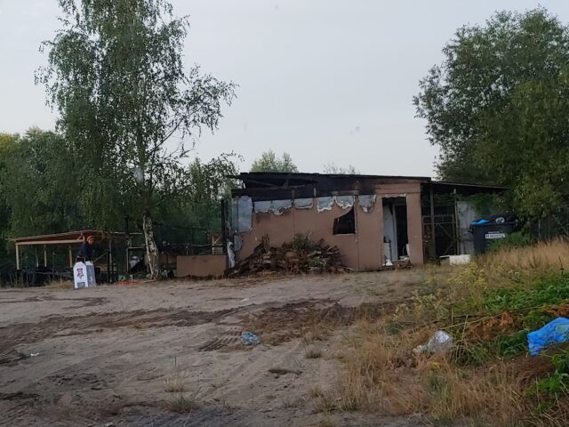 spalony Bar Ryśkowo - Dymaczewo Nowe