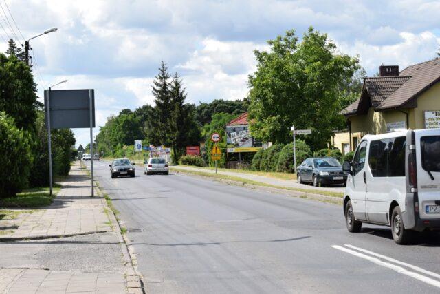 ulica Leszczyńska w Mosinie