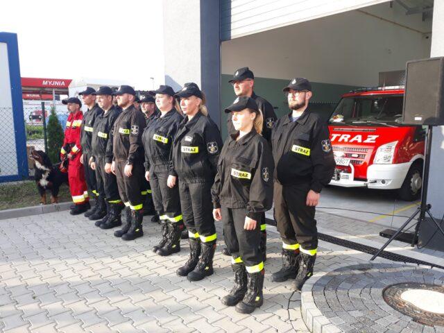 Strażacy z OSP Puszczykowo