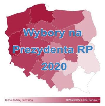 wybory 2020 - gmina Mosina i Puszczykowo - wyniki