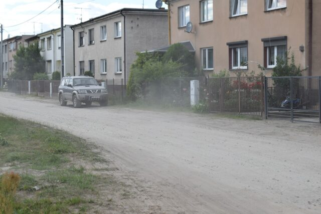 Ulica Żeromskiego w Mosinie