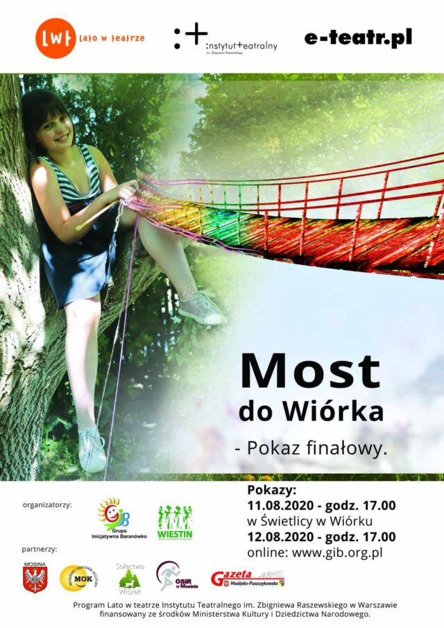 "Projekt ""Most do Wiórka"" PLAKAT"