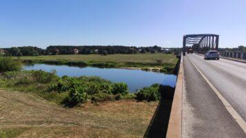 Most w Rogalinku - przeprawa przez Wartę