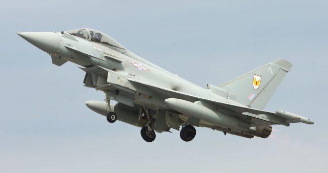 myśliwiec wielozadaniowy Eurofighter Typhoon