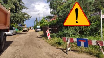 Wyciek gazu Mosina ulica Świerkowa