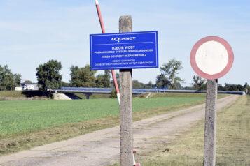 Krajkowo - Ujęcie wody poznańskiego systemu wodociągowego - teren ochrony bezpośredniej