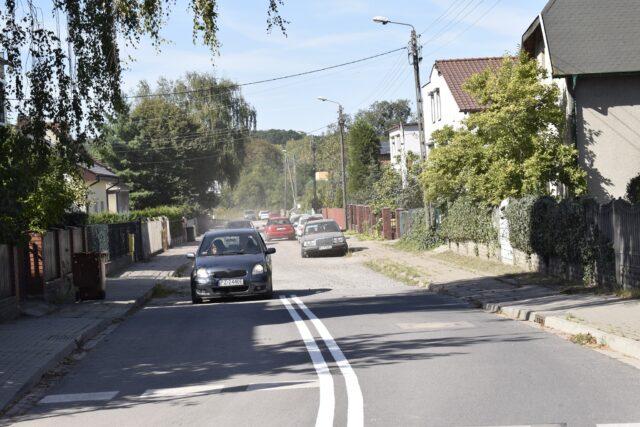 ulica Łazienna w Mosinie