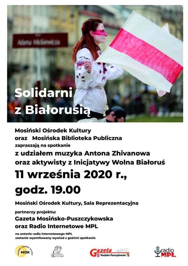 Solidarni z Białorusią MOK 2020