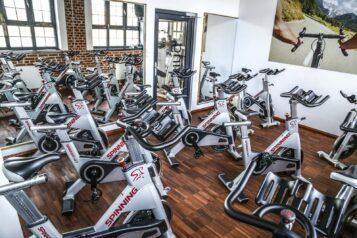 Siłownia Loft Fitness - rowery stacjonarne