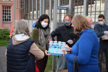 Zupa Wolności - inicjatywa okolicach Dworca Letniego w Poznaniu