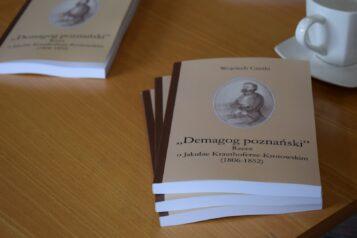 """Książka """"Demagog poznański"""" Wojciecha Czeskiego"""