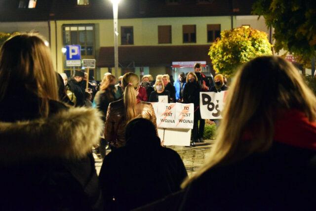 Strajk w Puszczykowie