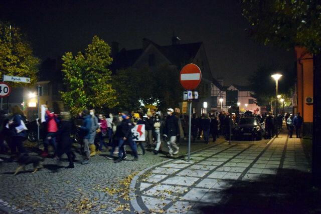 Strajk na rynku w Puszczykowie
