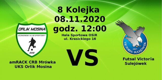 UKS Orlik Mosina - Futsal Victoria Sulejówek