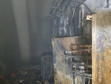pożar w Szkole w Wirach
