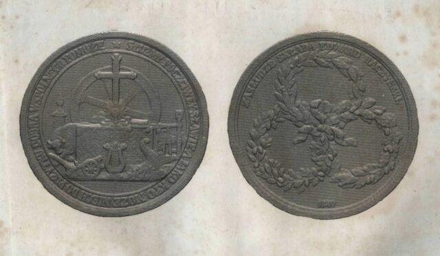 Kolekcjonerskie cymelia - medal