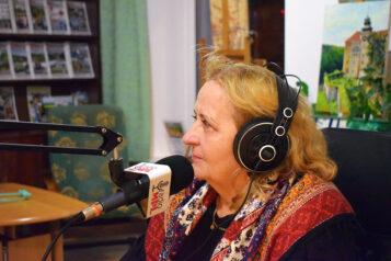 Dorota Strzelecka - dyrektor Galerii Sztuki w Mosinie