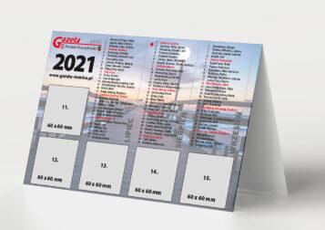 Kalendarz na rok 2021 - Gazeta Mosińsko-Puszczykowska