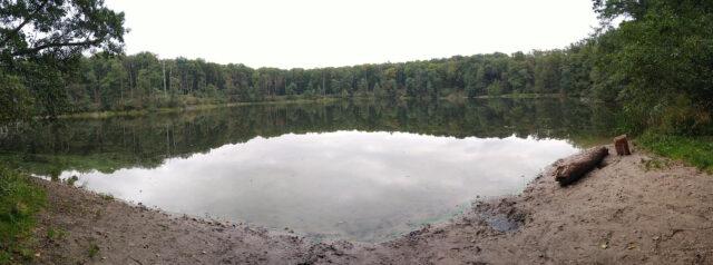 Jezioro Kociołek WPN - panorama